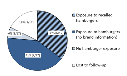 Figure 2: Summary of case exposures.