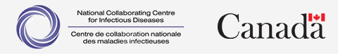 National Collaborating Centre for Infectious Diseases logo and Canada wordmark